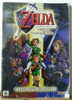 $17.99 • Buy Zelda: Ocarina Of Time - OFFICIAL STRATEGY GUIDE - Brady Games - Nintendo - N64