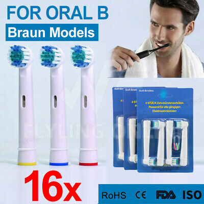 AU12.79 • Buy 4-16X Replacement Toothbrush Electric Brush Heads For Oral B Braun Models Series
