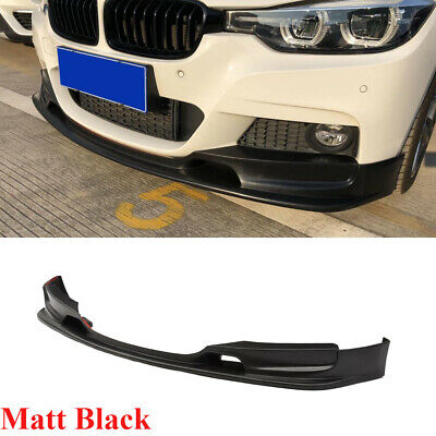 AU443.32 • Buy Front Bumper Lip Spoiler Fit For BMW F30 F35 320i 335i 340i 14-18 Matt Black