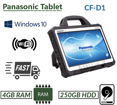 Panasonic Toughbook Cf-d1 Intel 847 Engineers' Xentry / Diagnostic Tab 4gb 250gb • 159.99£