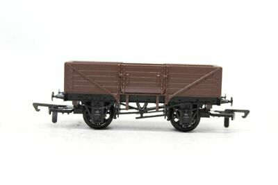 Dapol Brown A2 5 Plank Open Coal Wagon Boxed Oo Gauge 1/76 Rolling Stock B7 • 7.50£
