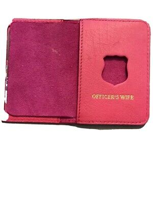 New York City Police  Officer Wife Mini Wallet And ID Holder PINK • 14.07£