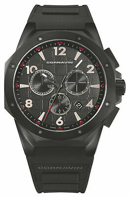 Watch Man Downtown Sport CO2012-2008R Rubber Black • 750.89£