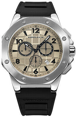 Watch Man Downtown Sport CO2012-2002R Rubber Black • 536.74£