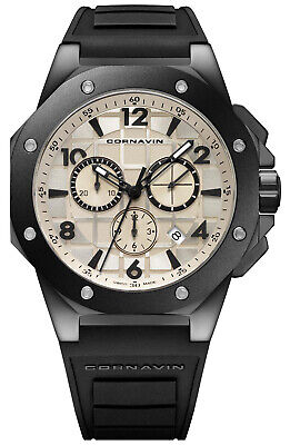 Watch Man Downtown Sport CO2012-2007R Rubber Black • 686.74£