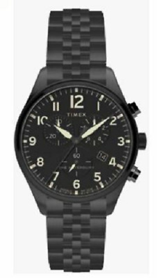 $67.92 • Buy Timex The Waterbury Men's Watch Chronograph 42mm Black TW2R88600