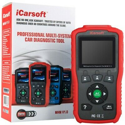 ICarSoft MHM V1.0 Professional Multi-system Diagnostic Scan Tool For HONDA/MAZDA • 126.77$