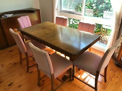 AU400 • Buy Antique Solid Wood Dining Table And Buffet