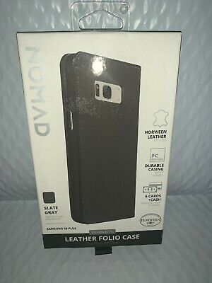 $ CDN7.31 • Buy Nomad Wallet Leather Case (with Card/cash Slots) For Samsung Galaxy S8 PLUS-Gray