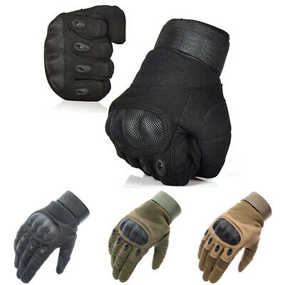 $13.59 • Buy Tactical Hard Knuckle Gloves Men's Military Army Combat Airsoft Paintball Patrol
