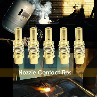 Brass Nozzle Contact Tip Connector Holder For Binzel Gas Diffuser MIG Welder Kit • 4.23£