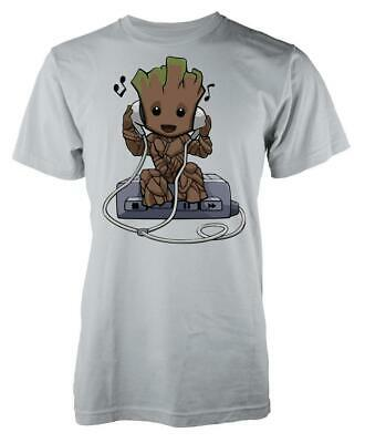 DJ Music Groot Headphones Adult T Shirt • 8.99£