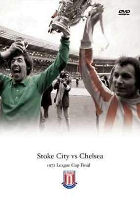 League Cup Final: 1972 - Stoke City Vs Chelsea DVD (2005) Cert E Amazing Value • 10.85£