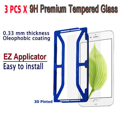 AU10.23 • Buy 3pcs X Tempered Glass Screen Protector With EZ Applicator For IPhone 6Plus I6PG3