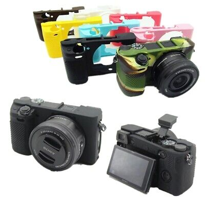 AU8.64 • Buy Rubber Silicon Case Body Cover Protector For Sony A6100 A6300 A6400 Camera