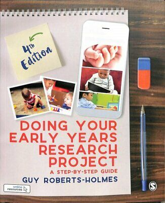 £23.60 • Buy Doing Your Early Years Research Project A Step By Step Guide 9781526424259
