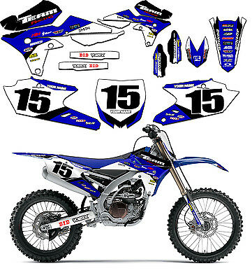 AU118.91 • Buy 2015-2018 Yamaha Yz 85 Graphics Kit Decals Stickers Team Racing Yz85 2017 2016