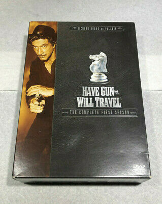 $9.98 • Buy Have Gun Will Travel - The Complete First Season (DVD, 2004, 6-Disc Set)