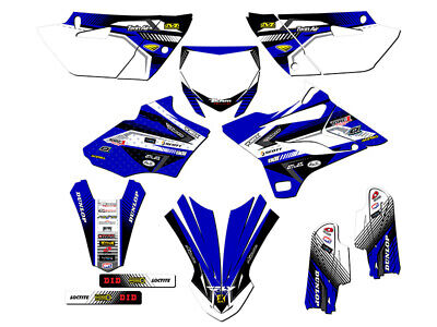 AU118.91 • Buy 2019-2020 Yamaha Yz 85 Graphics Kit Decals Stickers Deco Decor Team Racing Yz85