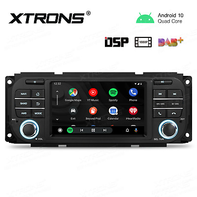 $225.99 • Buy 5  Android 10.0 Car GPS Radio Stereo RCA USB DSP For Jeep Grand Cherokee 1999-04
