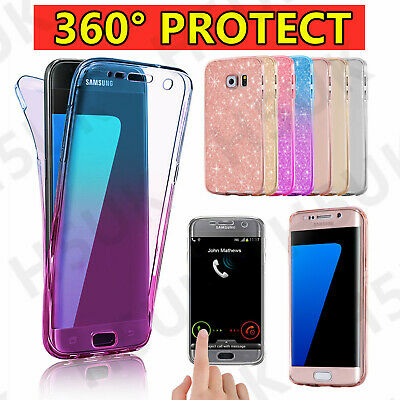 $ CDN4.57 • Buy 360 Front And Back Case Hybrid Silicone Gel Cover For Samsung S8 S8PlusS9 S9Plus