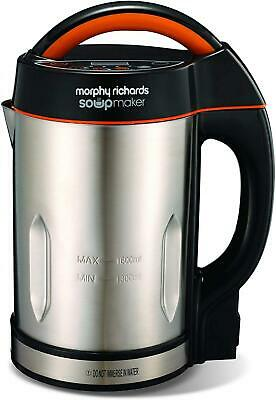 Morphy Richards Soupmaker Stainless Steel Soup Maker Round Handle  • 63.88£
