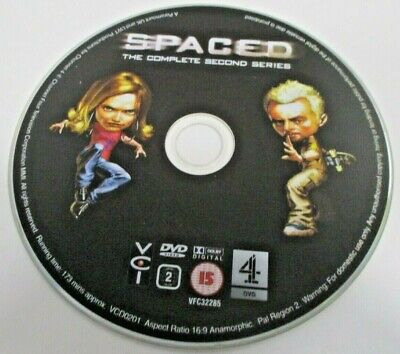 Spaced - Series 2 (DVD, 2006) SIMON PEGG NICK FROST EDGAR WRIGHT • 2£