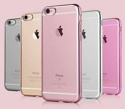 AU6.25 • Buy IPhone 8 / 7 Clear Phone Case Shockproof Bumper Slim Soft Cover Silicone