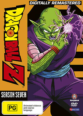 AU67.85 • Buy Dragon Ball Z Remastered Uncut Season 7 (eps 195-219) (fatpack) Dvd New