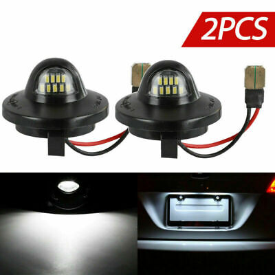 $10.99 • Buy 2pcs LED License Plate Light Lamp Assembly Replacement For Ford F150 F250 F350
