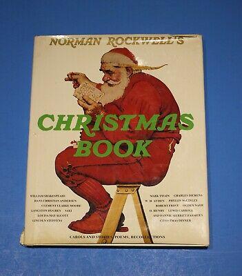 $ CDN17.32 • Buy   Norman Rockwell's CHRISTMAS BOOK -  Hardcover With Dust Jacket