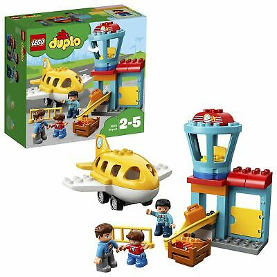 LEGO DUPLO My Town Airport Building Set With Airplane 10871 • 14.99£