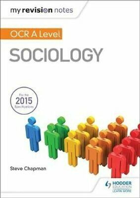£18.02 • Buy My Revision Notes: OCR A Level Sociology By Steve Chapman 9781471882715