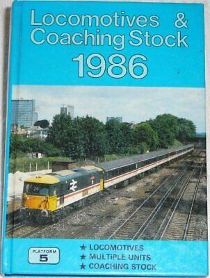 £7.99 • Buy LOCOMOTIVES & COACHING STOCK 1986 By Unknown Book The Cheap Fast Free Post