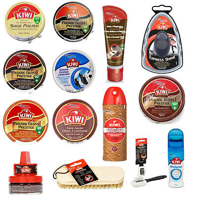 Kiwi Shoe Polish And Boot 50ml Tins - Choose Your Colour - Large Range Available • 5.99£