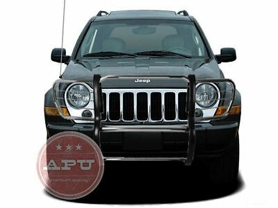 $382.50 • Buy APU Fits 02-07 Jeep Liberty Stainless Grille Bumper Brush Guard