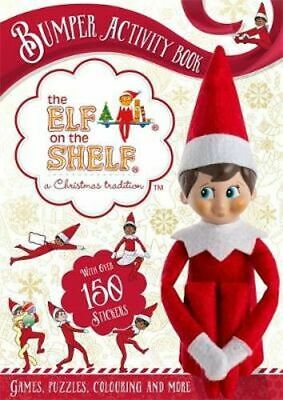 AU27.25 • Buy NEW The Elf On The Shelf Bumper Activity Book By The Elf On The Shelf Paperback