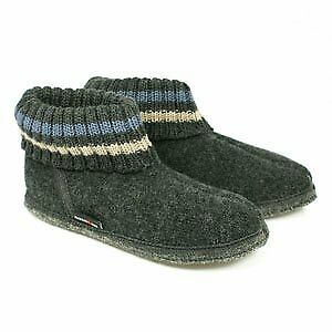 Haflinger Slipper Boot Paul Graphite • 29.50£