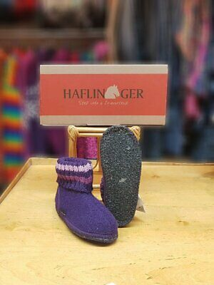 Haflinger Slipper Boot Paul Violet • 26.50£