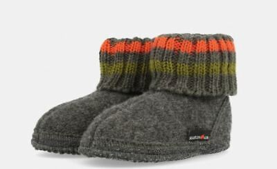 Haflinger Children's Slipper Boot Paul Anthrazit • 29.50£