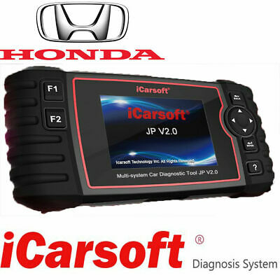 LATEST HONDA PROFESSIONAL MULTI SYSTEM DIAGNOSTIC SCAN TOOL Icarsoft JP V2.0 • 181.49$
