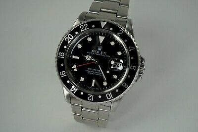 $ CDN13149.25 • Buy Rolex 16710 Gmt Master Ii Stainless Steel T Series Dates 1995