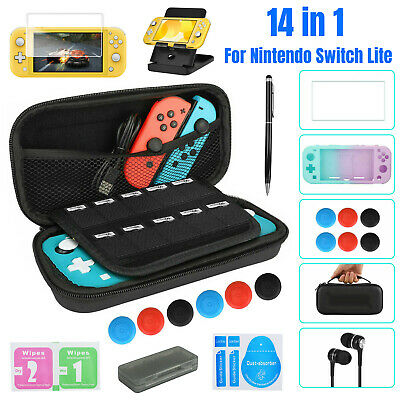 $11.97 • Buy For Nintendo Switch Lite Carrying Case Bag /Shell Cover /Glass Screen Protector