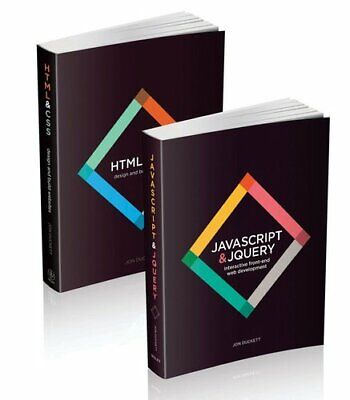 Web Design With HTML, CSS, JavaScript And JQuery Set 9781118907443 | Brand New • 32.09£
