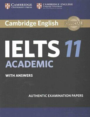 £26.59 • Buy Cambridge IELTS 11 Academic Student's Book With Answers Authent... 9781316503850