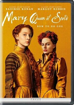 $13.46 • Buy MARY QUEEN OF SCOTS New Sealed DVD Saoirse Ronan Margot Robbie