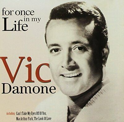 £3.49 • Buy Vic Damone - For Once In My Life - Vic Damone CD MJVG The Cheap Fast Free Post