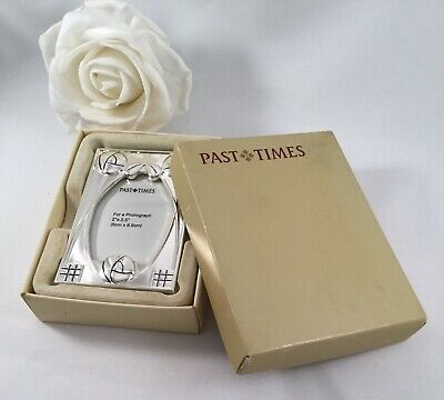 Vintage Past Times Silver Mackintosh Small Bedside Photo Frame For Old Photos • 27.56£
