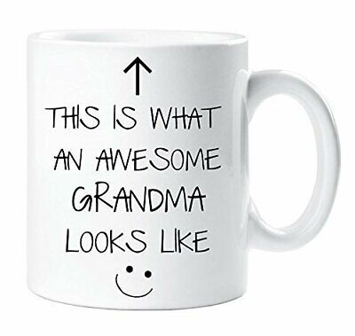 This Is What An Awesome Grandma Looks Like Mug Gift Xmas Cup  • 5.99£