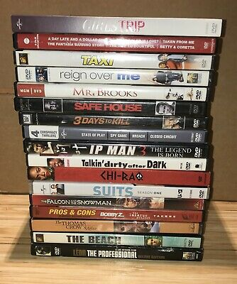 $ CDN10.58 • Buy LOT OF 17 DIFFERENT DVDs  PRE OWNED